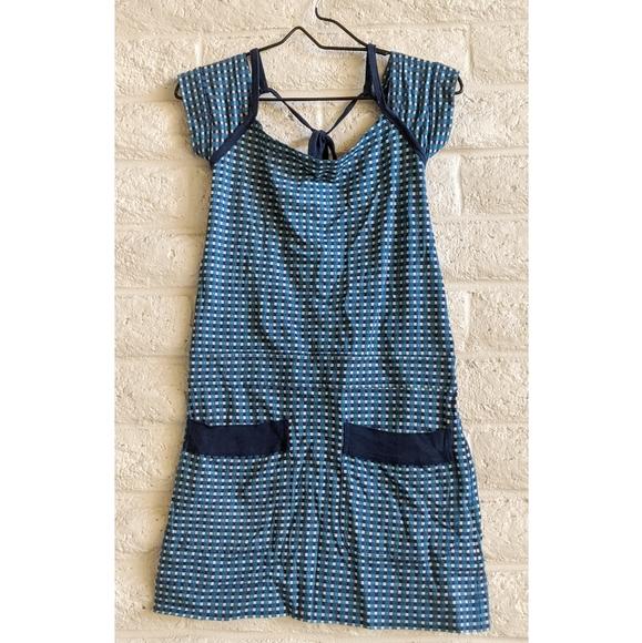 Marc By Marc Jacobs Dresses & Skirts - Marc Jacobs   blue plaid cotton open back dress